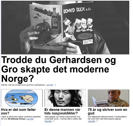 Dagbladet-donald