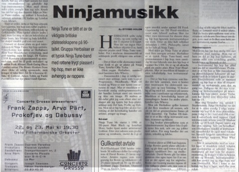 ninjamusikk 1