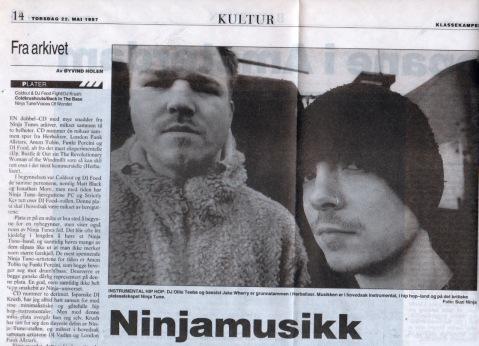 ninjamusikk